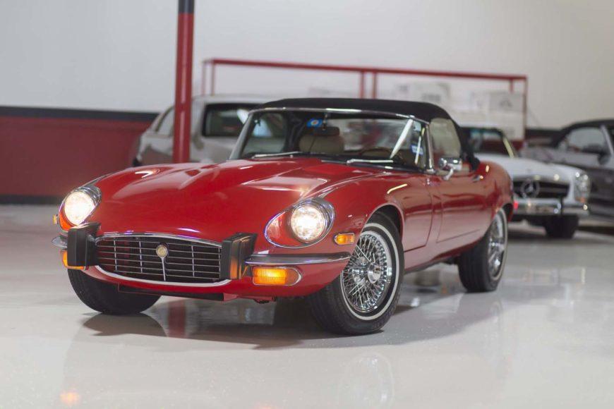 For Sale: 1974 Jaguar XKE